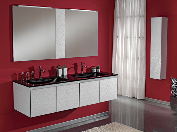 eurobagno serie cristal. Black Bedroom Furniture Sets. Home Design Ideas