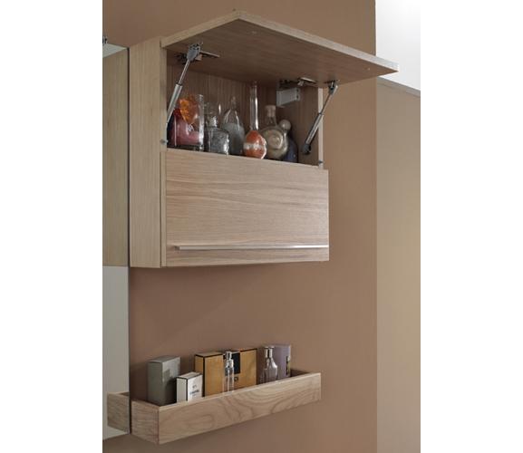 italien glas waschtisch eiche schrank badm bel set neu ebay. Black Bedroom Furniture Sets. Home Design Ideas
