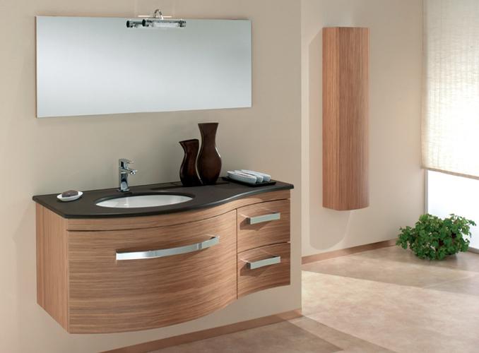 ital waschtisch agglo marmor badm bel wenge eiche neu ebay. Black Bedroom Furniture Sets. Home Design Ideas