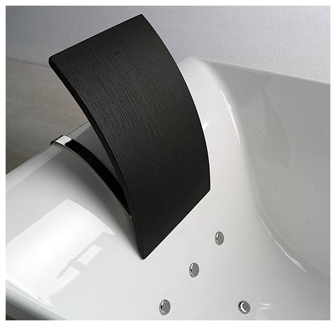italienische design badewanne wenge holz freistehend ebay. Black Bedroom Furniture Sets. Home Design Ideas