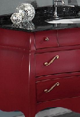 italien waschtisch badm bel set barock rot granit neu ebay. Black Bedroom Furniture Sets. Home Design Ideas