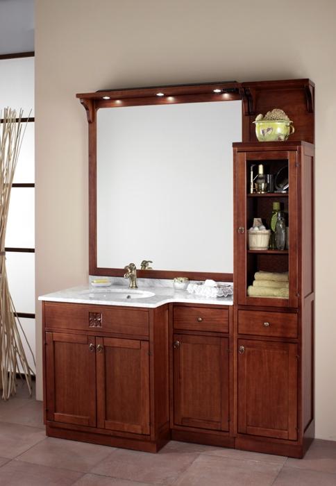 italien waschtisch holz mediterran marmor badm bel neu. Black Bedroom Furniture Sets. Home Design Ideas